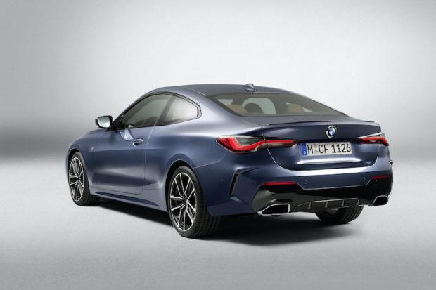 BMW 4er Coupé G22 Heckansicht