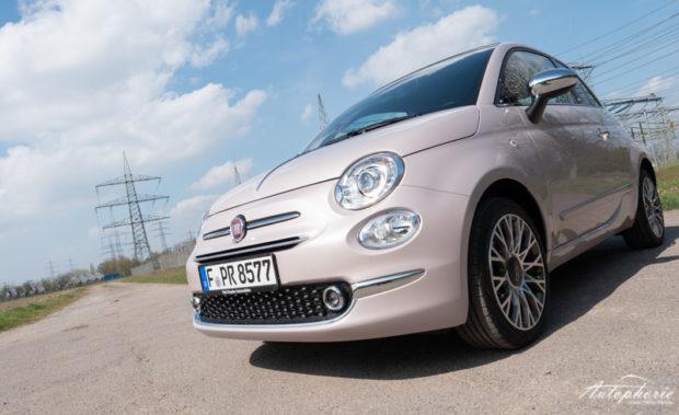 Fiat 500C Chromleiste Front