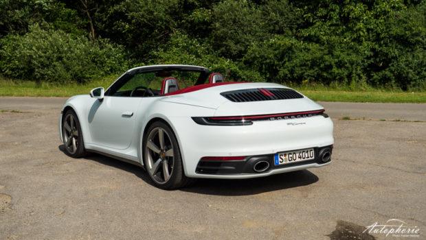 Porsche 911 Carrera Cabrio (992) Verdeck offen