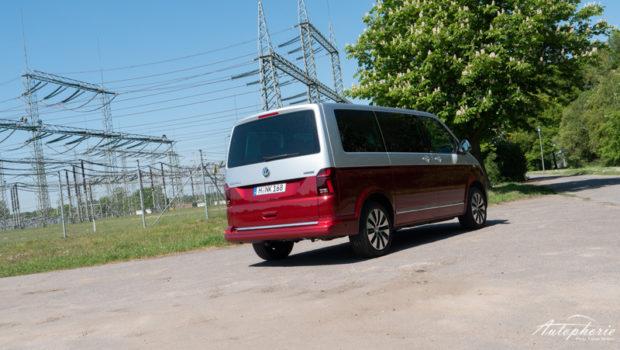 VW Multivan 6.1 Cruise Heckansicht