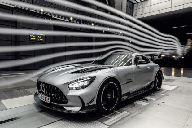 Mercedes-AMG GT Black Series Windtunnel