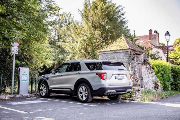 Ford Explorer 2020 Heck