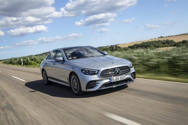 Mercedes-Benz E350 AMG Line Front 2020 w213 mopf hightech silver
