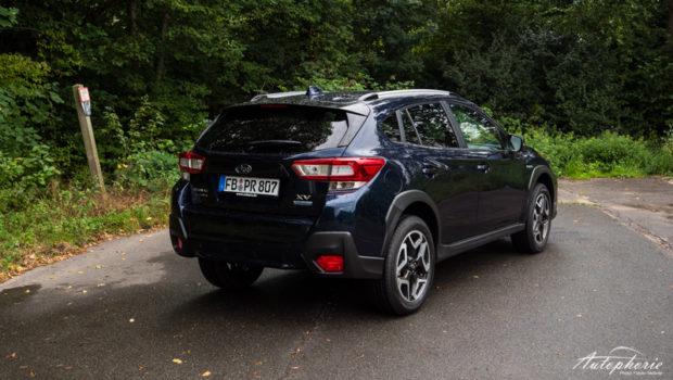 Subaru XV e-Boxer Dark Blue Pearl Heck