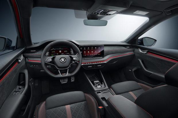 Skoda Octavia Combi RS 2.0 TSI Interieur