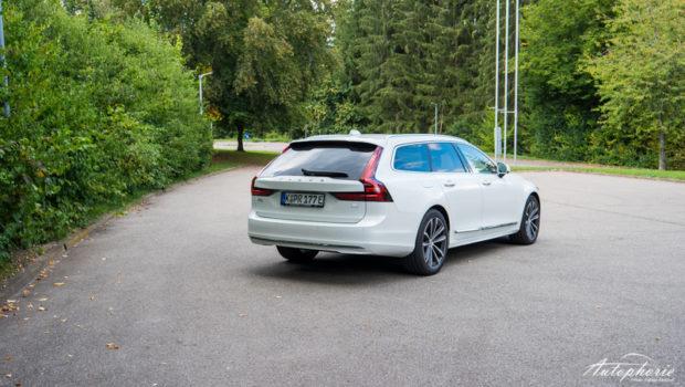 Volvo V90 T6 Recharge Modelljahr 2021 Heck