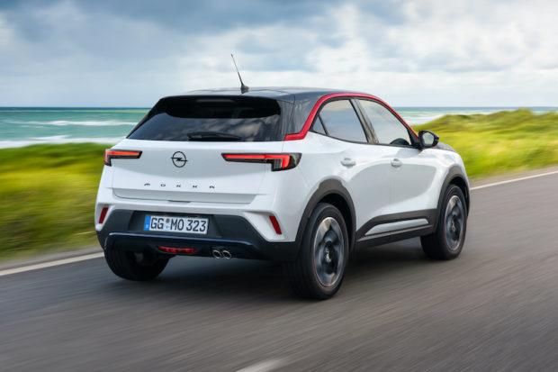 2020 Opel Mokka GS Line Heck
