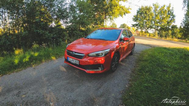 Subaru Impreza e-Boxer 2020 Pure Red Front