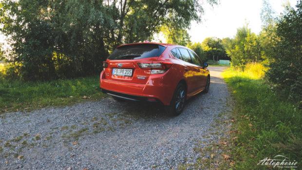 Subaru Impreza e-Boxer 2020 Pure Red Heck