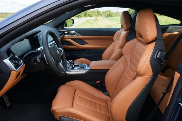 BMW M440i xDrive Coupe G22 Innenraum Sitze