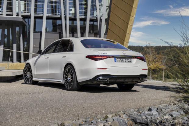 Mercedes-Benz S-Klasse 2021 AMG Line Heck
