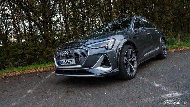 Audi e-tron S Sportback Daytona Grau Front