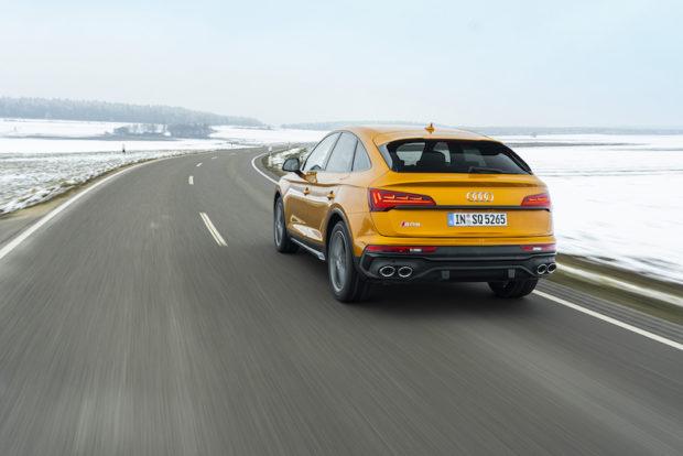 2021 Audi SQ5 Sportback TDI Heckansicht