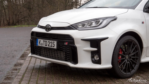2021 Toyota GR Yaris Front
