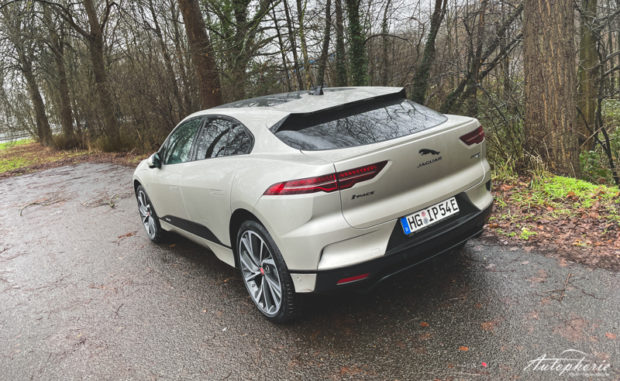 2021 Jaguar I-Pace Aruba Heckansicht