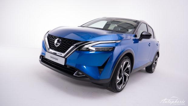 2021 Nissan Qashqai magnetic blue front