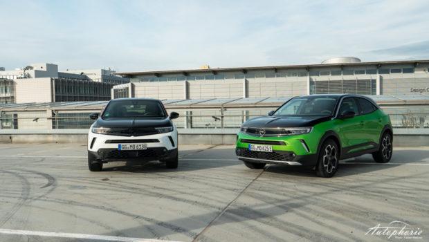 Opel Mokka GS Line gegen Opel Mokka-e Ultimate