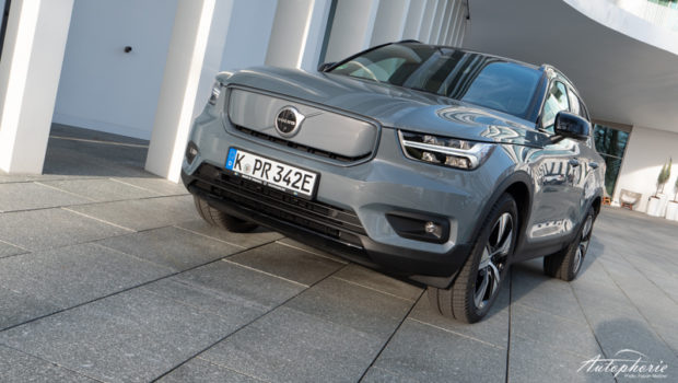 Volvo XC40 Recharge Pure Electric Thunder Grey