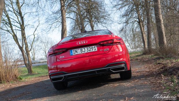 Audi A5 Coupé 40 TFSI Heck