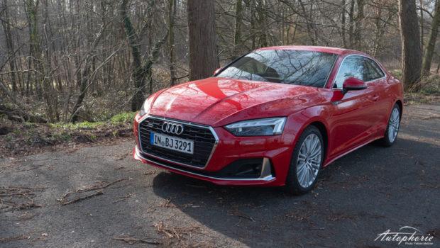 Audi A5 Coupé tangorot advanced