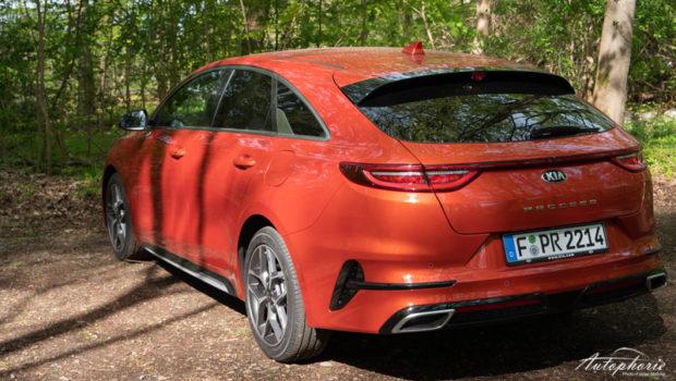 2021 Kia ProCeed 1.5 T-GDI Orange Fusion Metallic