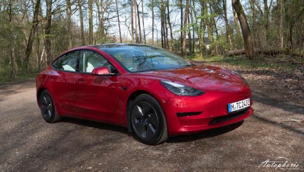 2021 Tesla Model 3 Standard Plus Red Multi Coat Front