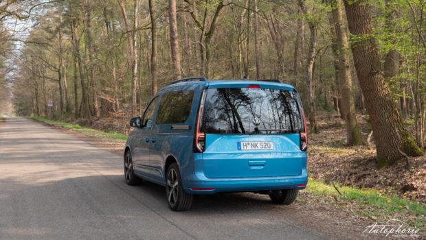 VW Caddy 5 Costa Azul Metallic Heck LED Rückleuchten