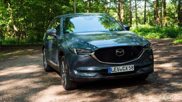 2021 Mazda CX-5 Skyactiv-D 184 AWD Polymetall Grau Metallic Front