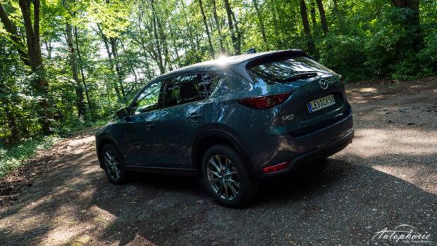 2021 Mazda CX-5 Skyactiv-D 184 AWD Polymetall Grau Metallic Heck