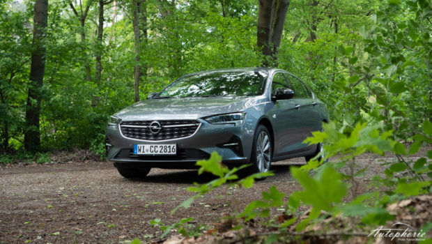 Opel Insignia 2.0 Turbo Lichtgrau