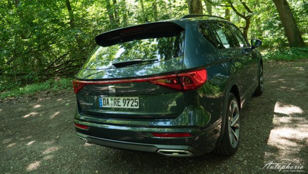 Seat Tarraco e-Hybrid Dark Camouflage Heck