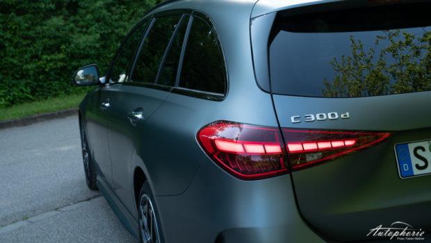 Mercedes-Benz C 300d T-Modell AMG LIne designo selentigrau magno Detail