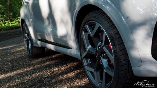 2021 Ford Puma ST glanzgedrehte Felgen