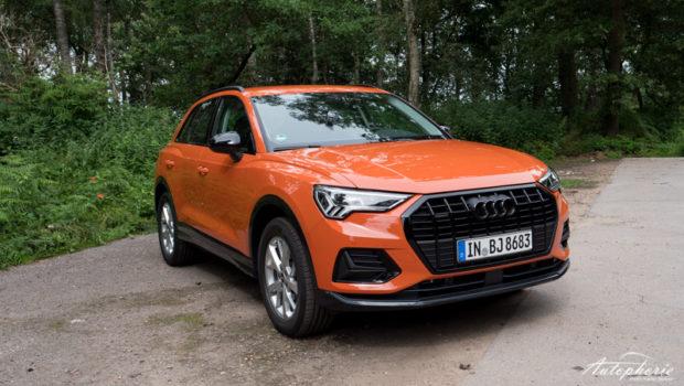 2021 Audi Q3 advanced Puls Orange Optikpaket schwarz
