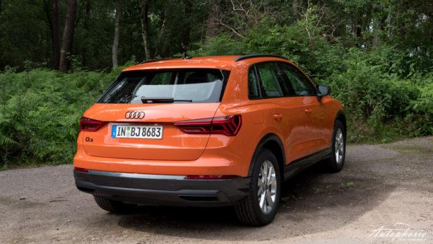 2021 Audi Q3 Audi Q3 40 TDI advanced Puls Orange Optikpaket schwarz Heck