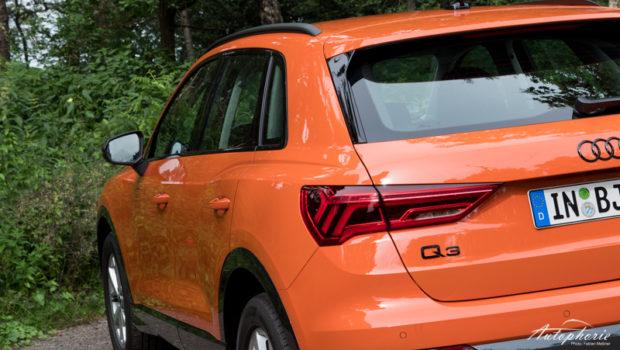 Audi Q3 40 TDI Puls Orange