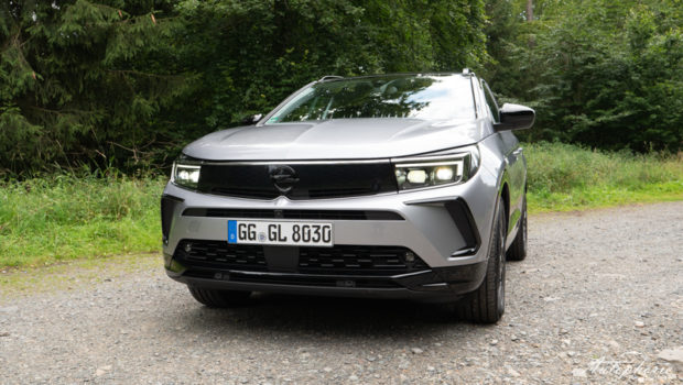 2021 Opel Grandland GS Line Quarz Silber Metallic Front