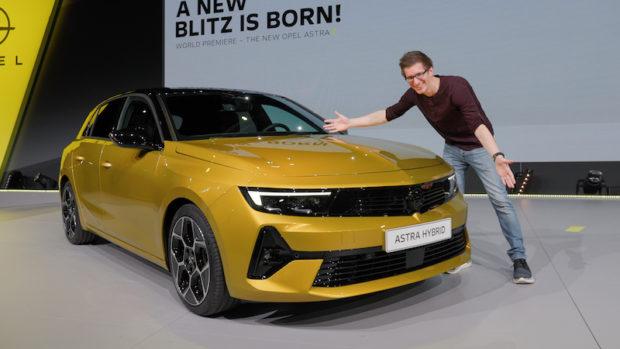 Opel Astra L 2022 Sitzprobe