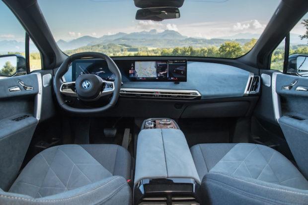 BMW iX xDrive50 Loft Interieur