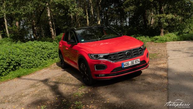 VW T-Roc Sport 2.0 TSI Front Flash Rot